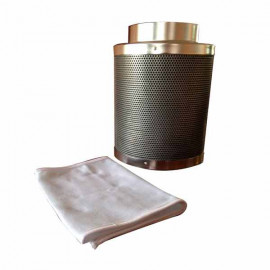 FILTRO CARBON 125*300 MM - (360 m3/h)