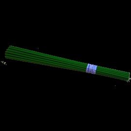 TUTOR PLASTICO VERDE 120CM (Bolsa 100 unds)