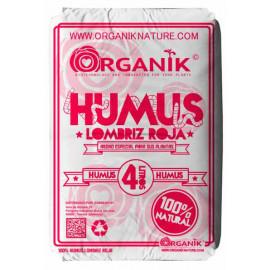 ORGANIK HUMUS DE LOMBRIZ ROJA 4 L.