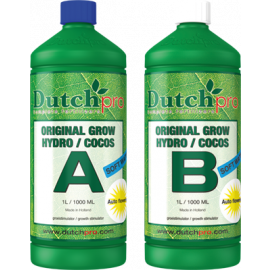 AUTO FLOWERING  GROW HYDRO/COCO A+B (SW) - 1 L.
